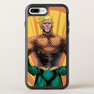 Capa Para iPhone 8 Plus/7 Plus OtterBox Symmetry Posição de Aquaman