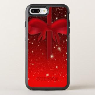 Capa Para iPhone 8 Plus/7 Plus OtterBox Symmetry Presente vermelho