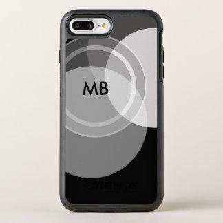 Capa Para iPhone 8 Plus/7 Plus OtterBox Symmetry Profissional do negócio do monograma