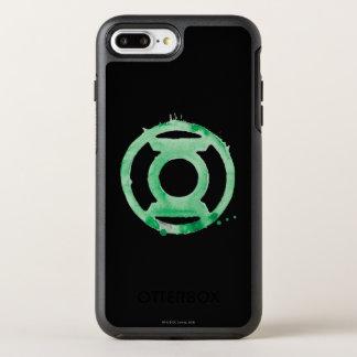 Capa Para iPhone 8 Plus/7 Plus OtterBox Symmetry Símbolo de lanterna do café - verde