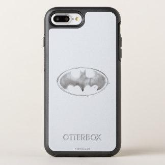 Capa Para iPhone 8 Plus/7 Plus OtterBox Symmetry Símbolo do bastão do café - cinza