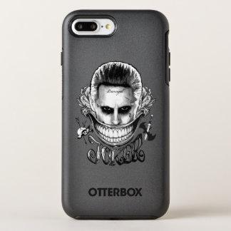 Capa Para iPhone 8 Plus/7 Plus OtterBox Symmetry Sorriso do palhaço do pelotão   do suicídio