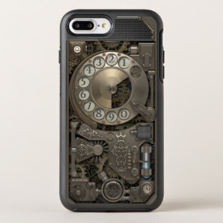 Capa Para iPhone 8 Plus/7 Plus OtterBox Symmetry Telefone de seletor giratório do metal de