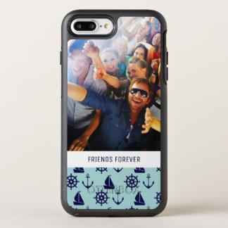 Capa Para iPhone 8 Plus/7 Plus OtterBox Symmetry Teste padrão | do beira-mar seus foto & texto