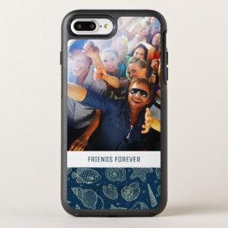 Capa Para iPhone 8 Plus/7 Plus OtterBox Symmetry Teste padrão | dos habitantes do oceano seus foto