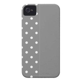 Capa Para iPhone Bolinhas cinzentas
