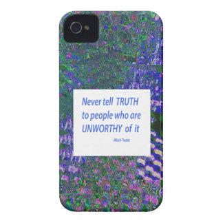 Capa Para iPhone Palavras da sabedoria - diga a verdade presentes