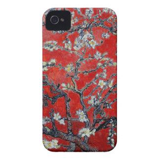 Capa Para iPhone Ramos de Vincent van Gogh com vermelho da flor da