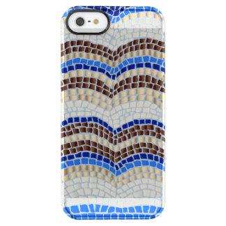Capa Para iPhone SE/5/5s Transparente Caixa azul do defletor do iPhone 5/5s/SE do