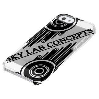 Capa Para iPhone SE/5/5s Transparente Cobrir do telefone do Grunge