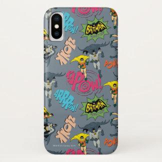 Capa Para iPhone X Batman e teste padrão da ação do pisco de peito