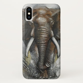 Capa Para iPhone X Carregamento do elefante