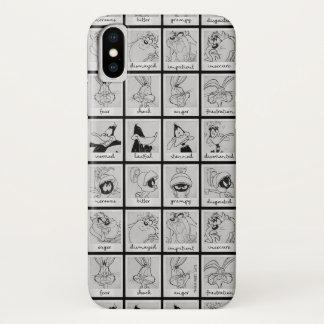 Capa Para iPhone X Carta LOONEY da emoção do caráter de TUNES™