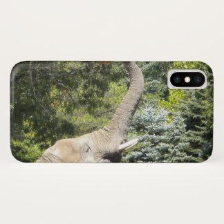 Capa Para iPhone X Elefante de alimentação