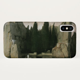 Capa Para iPhone X Ilha do morto por Arnold Bocklin, arte do