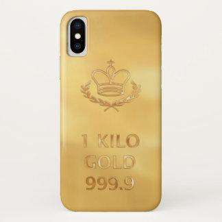Capa Para iPhone X Impressão do bar do lingote de ouro