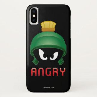 Capa Para iPhone X MARVIN o MARTIAN™ Emoji irritado
