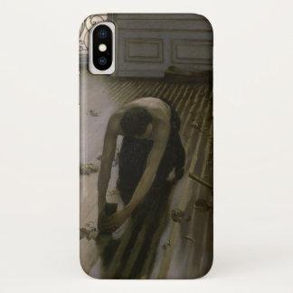 Capa Para iPhone X Os raspadores do assoalho por Gustave Caillebotte