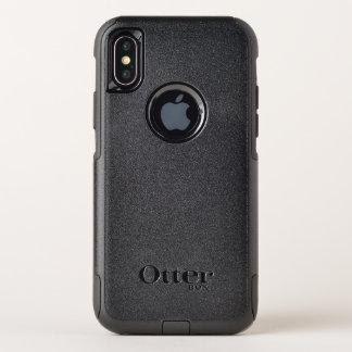Capa Para iPhone X OtterBox Commuter Exemplo da viagem ao trabalho do iPhone X de