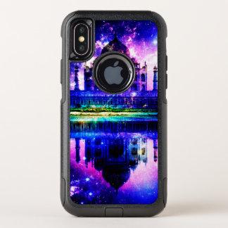 Capa Para iPhone X OtterBox Commuter Sonhos iridescentes de Taj Mahal
