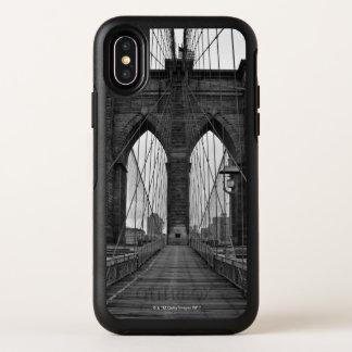 Capa Para iPhone X OtterBox Symmetry A ponte de Brooklyn na Nova Iorque
