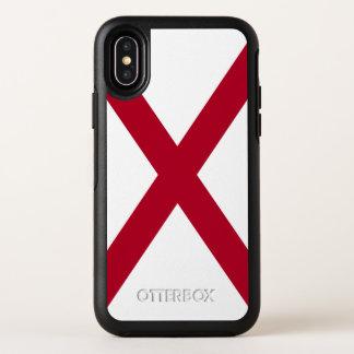 Capa Para iPhone X OtterBox Symmetry Bandeira do estado de Alabama