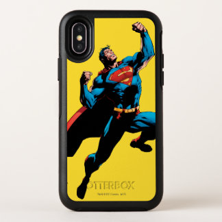 Capa Para iPhone X OtterBox Symmetry Braços do superman aumentados