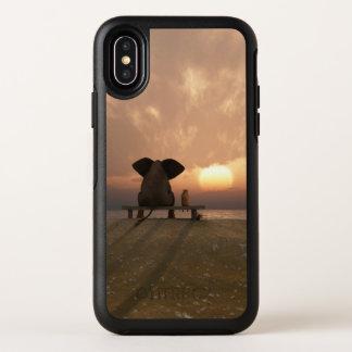 Capa Para iPhone X OtterBox Symmetry Caso do iPhone X de OtterBox dos amigos do