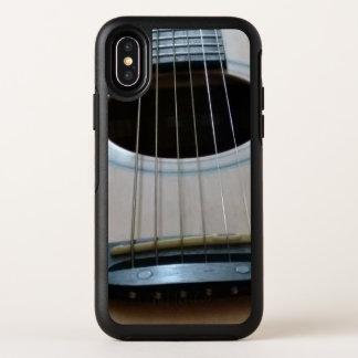 Capa Para iPhone X OtterBox Symmetry Caso do otterbox de IphoneX com da guitarra da