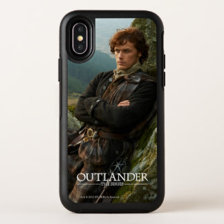 Capa Para iPhone X OtterBox Symmetry Fotografia de reclinação do Outlander | Jamie
