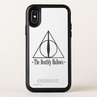 Capa Para iPhone X OtterBox Symmetry Harry Potter   o Deathly Hallows o emblema