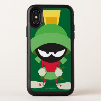 Capa Para iPhone X OtterBox Symmetry MARVIN O MARTIAN™ pronto para atacar