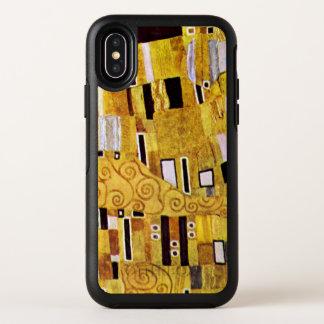 Capa Para iPhone X OtterBox Symmetry O teste padrão do beijo por Gustavo Klimt, arte