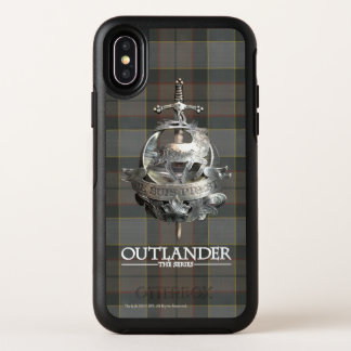 Capa Para iPhone X OtterBox Symmetry Outlander | o broche de Fraser