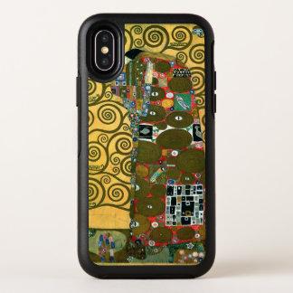 Capa Para iPhone X OtterBox Symmetry Realização aka o abraço por Gustavo Klimt