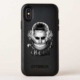 Capa Para iPhone X OtterBox Symmetry Sorriso do palhaço do pelotão   do suicídio
