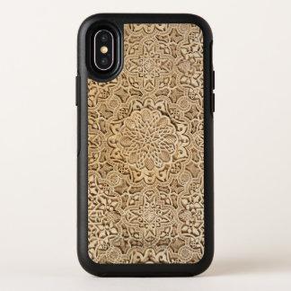 Capa Para iPhone X OtterBox Symmetry Teste padrão de Alhambra