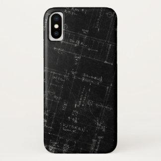 Capa Para iPhone X Planta baixa do arquiteto