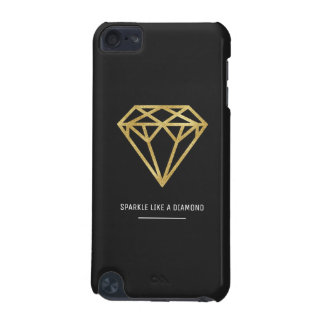 Capa Para iPod Touch 5G Diamante do ouro