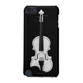 Capa Para iPod Touch 5G Retrato do violino - fotografia preto e branco