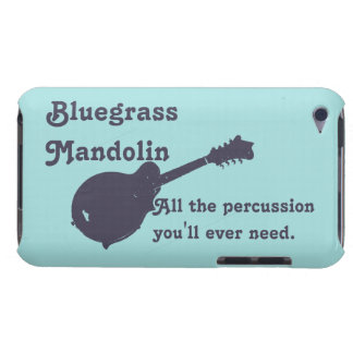 Capa Para iPod Touch Bandolim do Bluegrass - toda a percussão que você