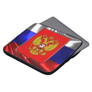 Capa Para Laptop Brasão do russo