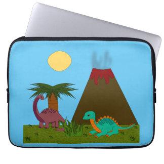 Capa Para Laptop Estilo de Dino