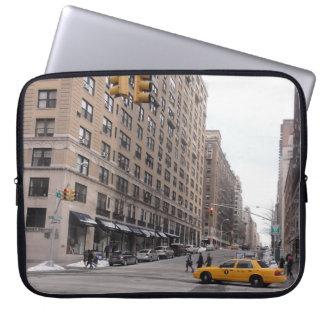 Capa Para Laptop Táxi amarelo de New York