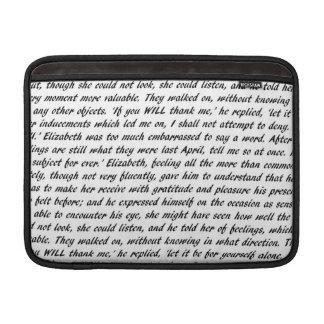 Capa Para MacBook Air Citações de Jane Austen