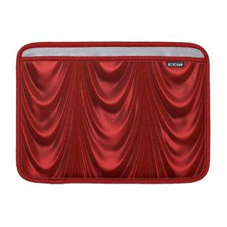 Capa Para MacBook Air Teatro ativo do vermelho   das cortinas do palco