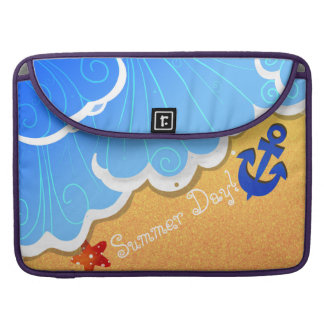 Capa Para MacBook Capas de MacBook Pro da praia do verão