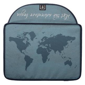 Capa Para MacBook Deixe a aventura começar