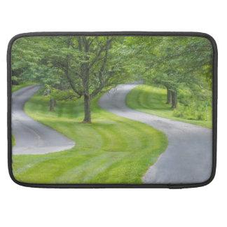 Capa Para MacBook Duas estradas de enrolamento