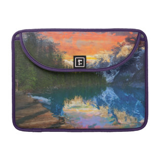 Capa Para MacBook Lago forest
